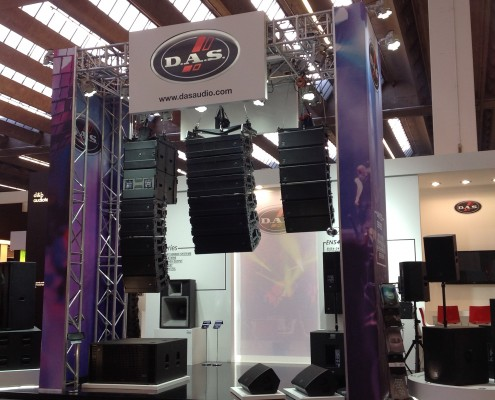 Feria Prolight&Sound Das Audio 2015 1