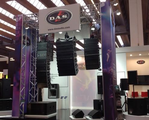 Feria Prolight&Sound Das Audio 2015 1